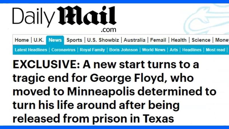 Turns Out George Floyd Has An Extensive Criminal History Including Prison Robbery With A Firearm