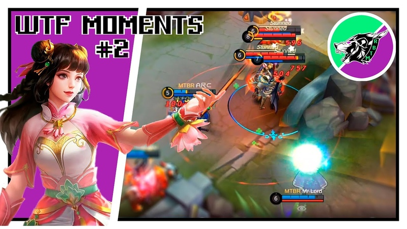 Mobile Legends OMG funny moments 2 Лучшие моменты