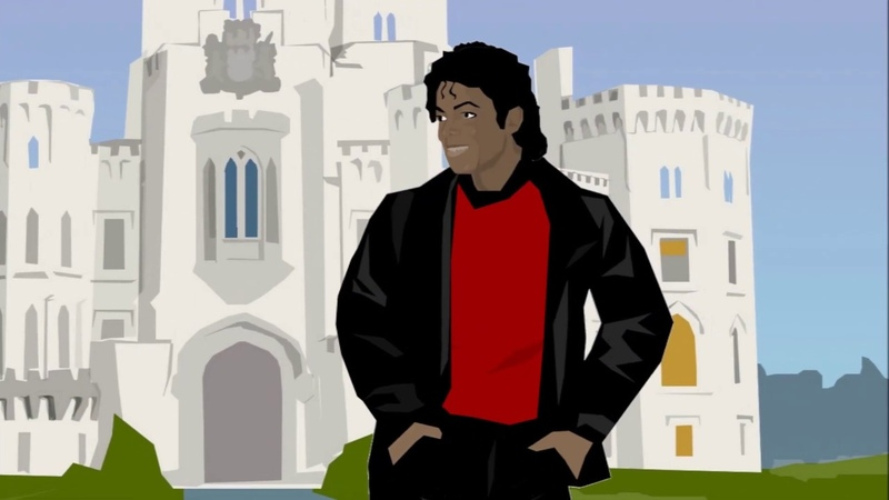 Michael Jackson For All Time animated film