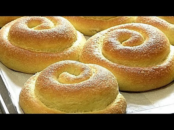 НОЧНОЕ - ДРОЖЖЕВОЕ ТЕСТО. Сахарные булочки.Рецепты от ГалиныNight yeast dough.