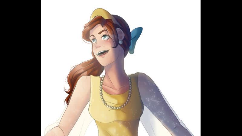 Anastasia [speedpaint]