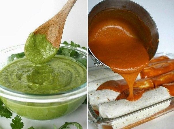 Рецепты изумительных соусов