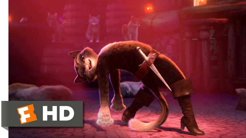 Puss in Boots (2011) - Save the Last Dance Scene (1010) | Movieclips