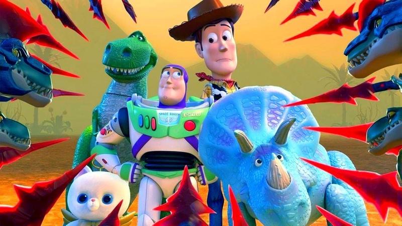 История игрушек Забытые временем мультфильм Disney