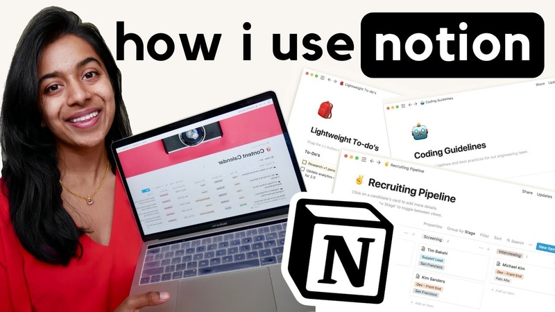 How I Use Notion The Best Productivity Tool not sponsored