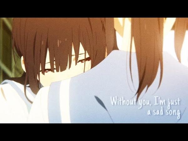 AMV Sad Song Nozomi x Mizore