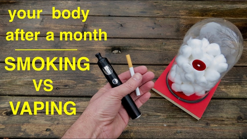 How Smoking vs Vaping Affects Your Lungs ● You Must See This