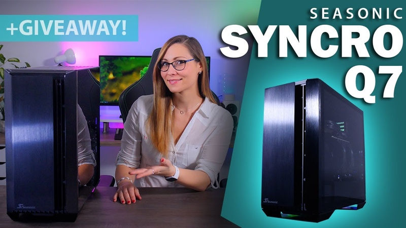 Seasonics First Case! - Syncro Q7 review Awesome Giveaway (RTX 3080 inside!)