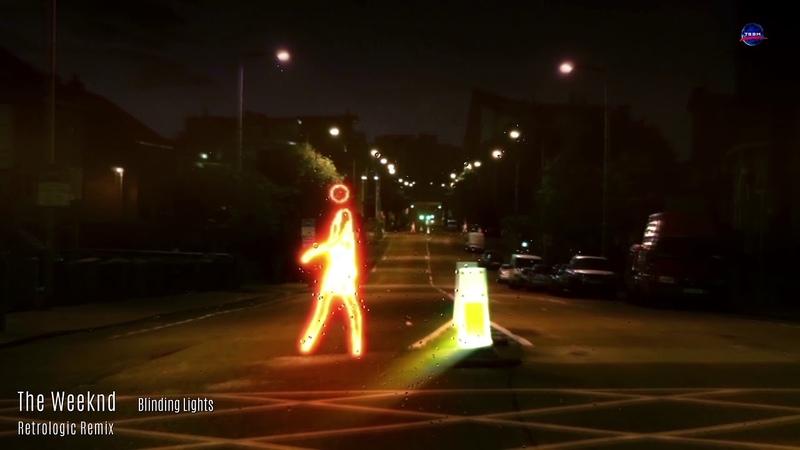 The Weeknd Blinding Lights Retrologic RmX Vid in 4K