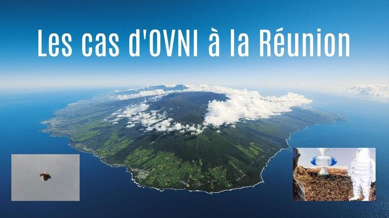 Les cas d'OVNI à la Réunion avec Patrick Rencontres du 3ème type et crashs de rien