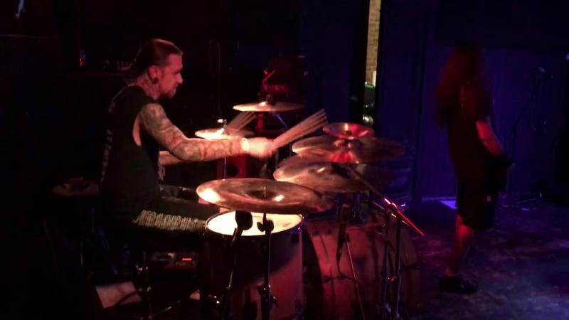 Aleks Semenov INFILTRATION Collateral Damage Drum Cam SaintP Deathfest 2020