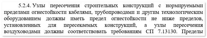 Отличия нового СП 2.13130.2020, изображение №5