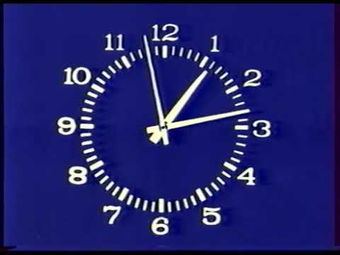 Часы ЦТ СССР 14 01 1980 25 12 1991