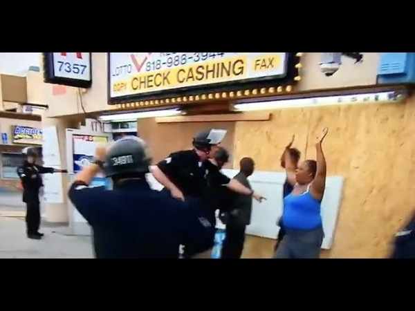 Police Arrest Van Nuys Store Owners Who Flagged Them Down For Help With Looters