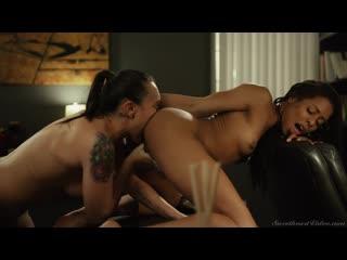 SINN SAGE & KIRA NOIR [Fingering, HD Porn, Lesbian, Pornstar, Pussy Licking, Scissoring in Lesbian]