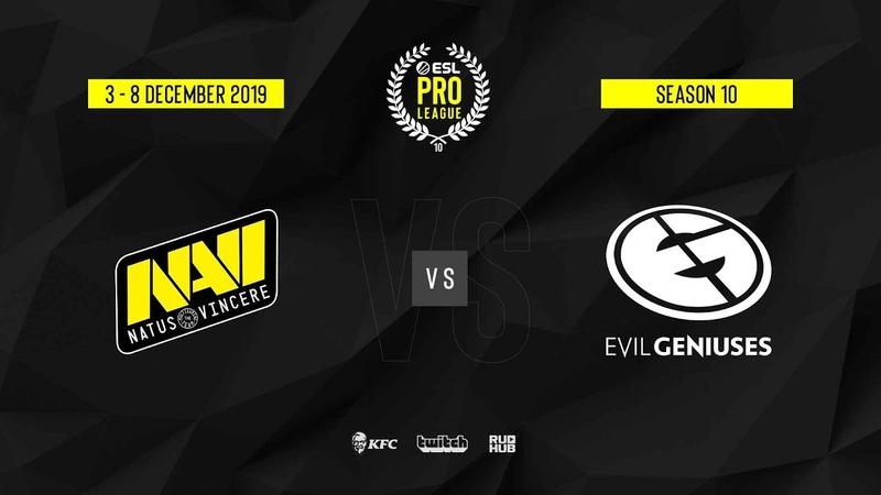 Natus Vincere vs EG ESL Pro League S10 Finals map2 de dust2 Gromjkeee TheCraggy