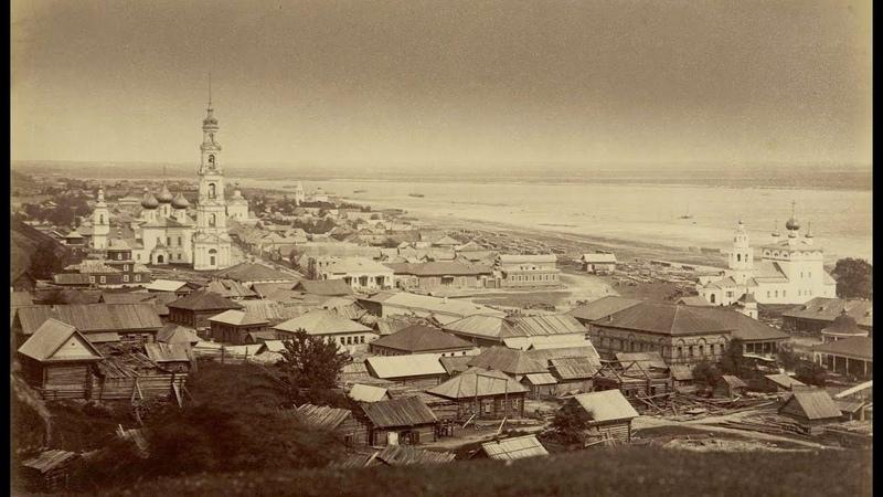 On the River Volga in 1867 photographs by Mikhail Nastyukov