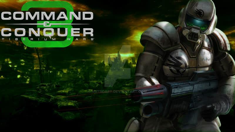 Command and Conquer 3 Tiberium Wars Второё Стрим Прохождение на Стрим №1