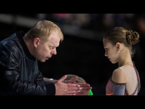 Alexandra Trusova with Sergey Dudakov