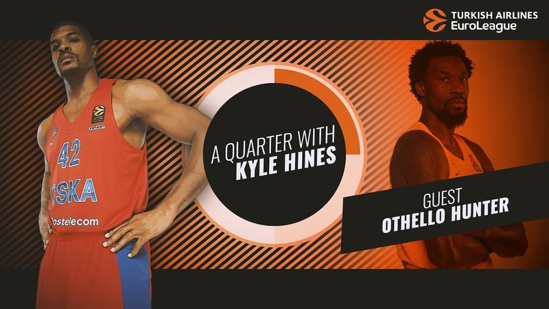 A Quarter with Kyle Hines and special guest Othello Hunter
