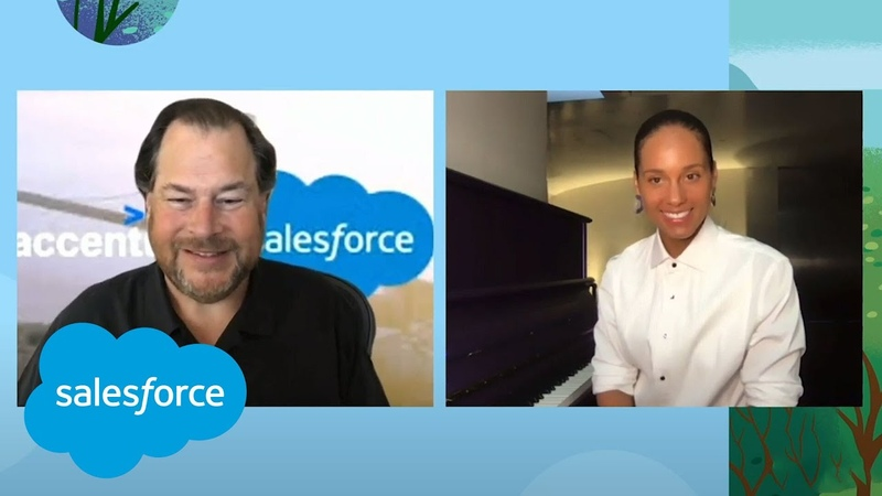 How Accenture Is Outmaneuvering Uncertainty Alicia Keys Sings Leading Through Change Salesforce
