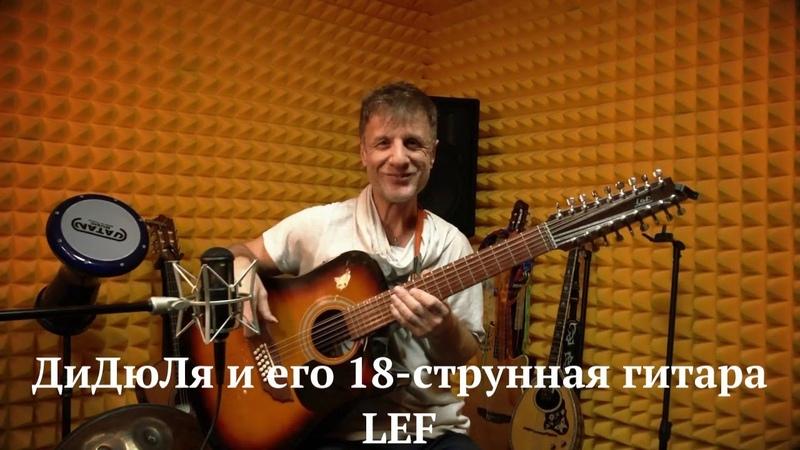 ДиДюЛя и его королевская 18 струнная гитара LEF История инструментов Выпуск 15