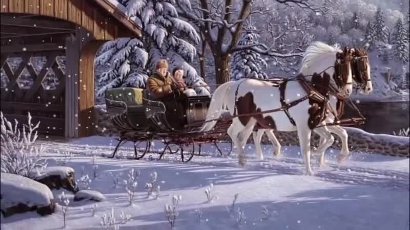 Снег кружится летает летает исп А Олешко