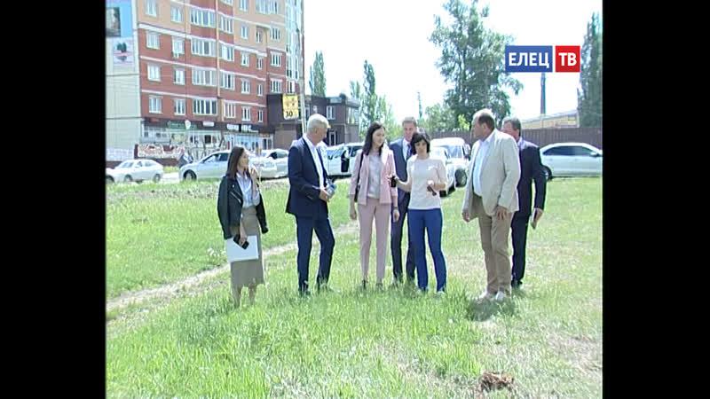 Благоустройство сквера им. А.Т. Харченко и парка 40-летия Октября