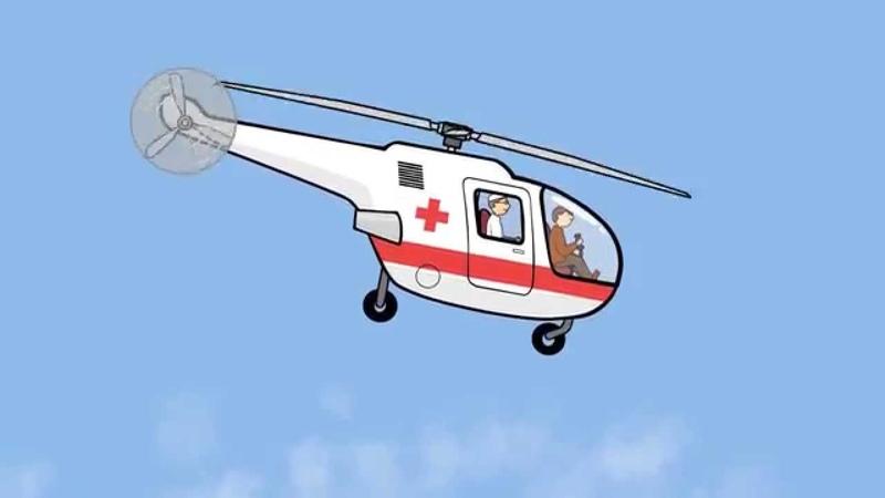 Großbau für Kinder Der Hubschrauber Helf uns beim bauen und lernen