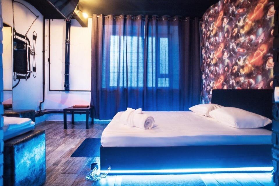 Самый необычный отель в Москве #место@mosc1  Вы замечали, что