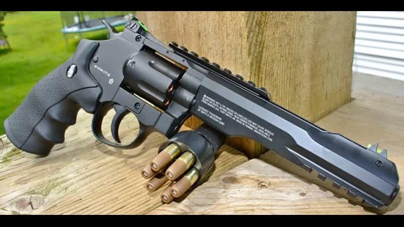 Пневматический пистолет Gletcher SW R8 копия Smith and Wesson