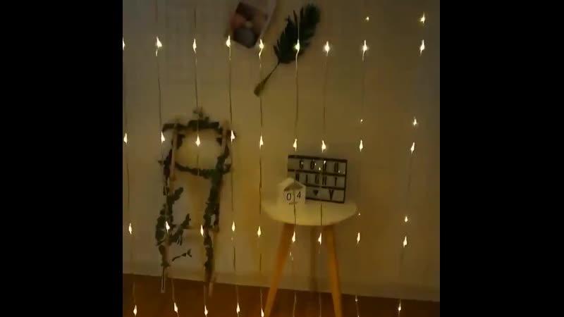 HBU 3x 1 3x 2 3x 3M струнный светильник s Icicle сказочная