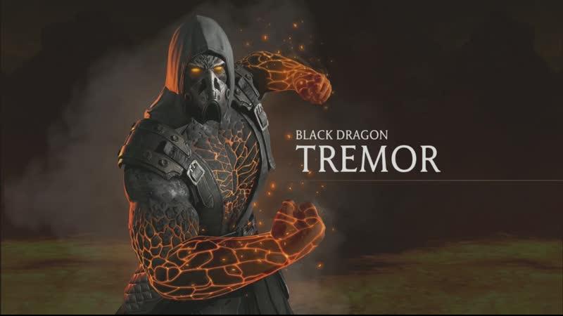 Геймплей Тремора Чёрный Дракон Mortal Kombat Mobile