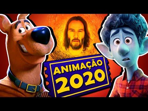 8 FILMES DE ANIMAÇÃO MAIS ESPERADOS DE 2020