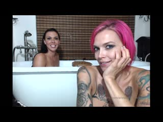 Bath time! With hottie Rachel Starr.. its a GG Marathon and I have TONS of videos with this busty babe! Here you go!