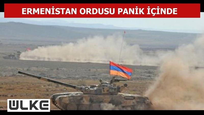 Ermenistan tanklarını bırakıp kayıplara karıştı