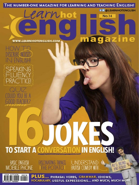 Learn Hot English - Issue 218, July 2020