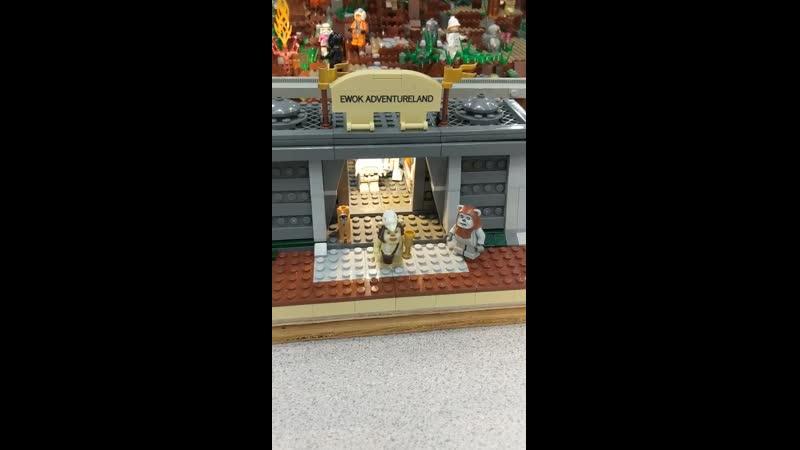 Giant LEGO Star Wars Ewok Adventure Land