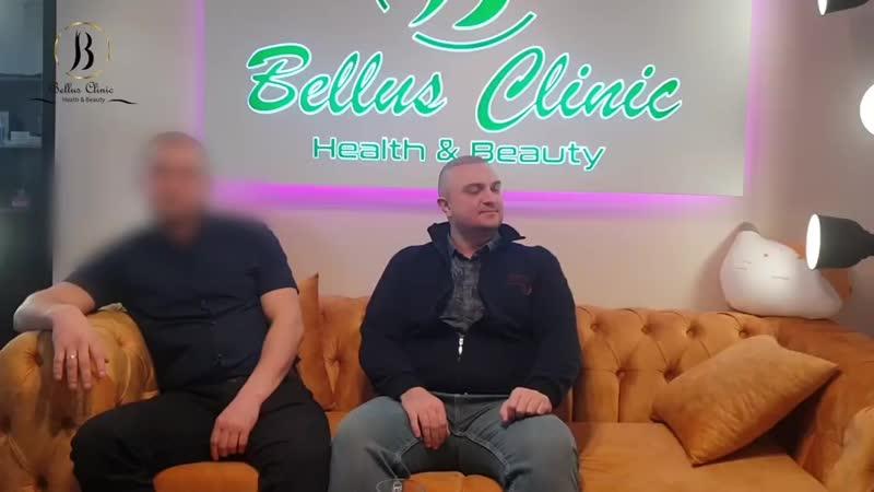 Наши гости из Белоруссии после пересадки волос