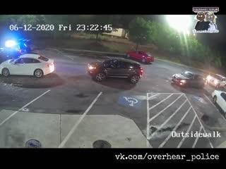 В Атланте полицейские убили очередного негра