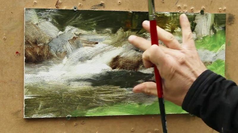 Serene Waterfall Timelapse