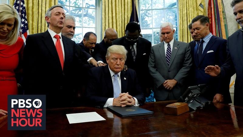 After recent rift are evangelical Christians still behind Trump