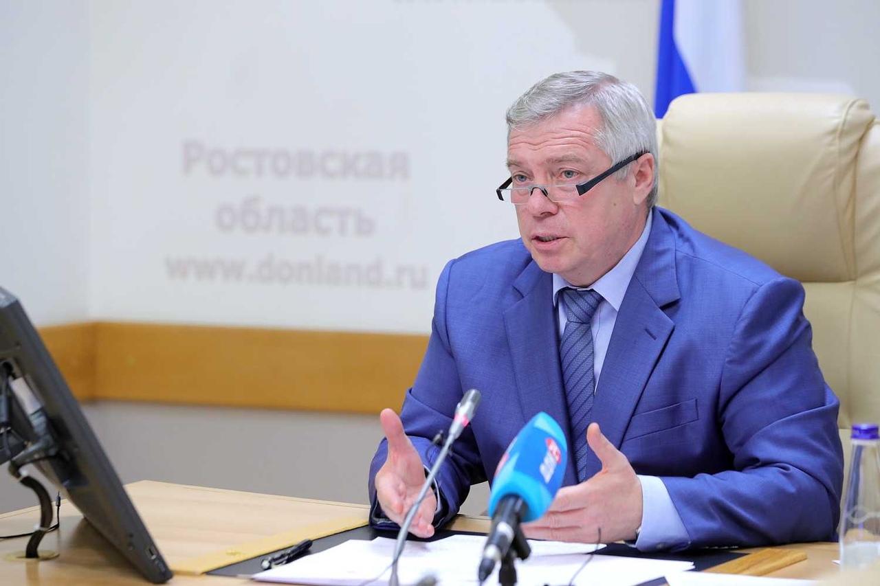 Губернатор Василий Голубев: «Регион в целом готов к масштабному смягчению ограничений»