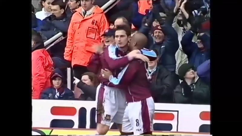 Lampard Sinclair goals vs Charlton Athletic 26 December 2000