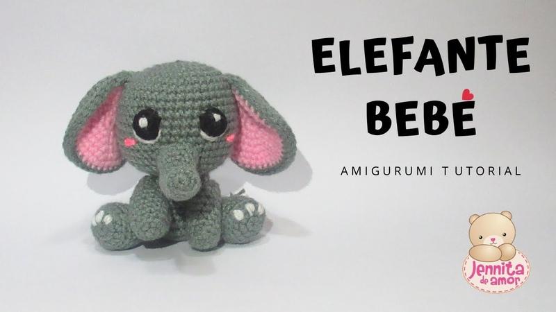 5 trucos para saber como hacer un elefante tejido a crochet ... | 450x800