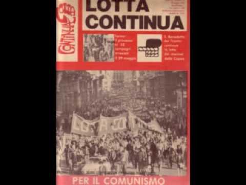 Pino Masi - Lotta Continua Борьба продолжается.