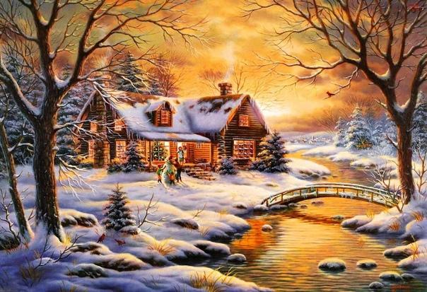 Счастье - это когда ты живешь в своем доме, спишь в своей постели, ешь из своей посуды, ходишь по своему огороду