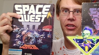 SPACE QUEST III BOX UNBOXING... WITH SURPRISES *GASP* *SHOCK* *PUKE*