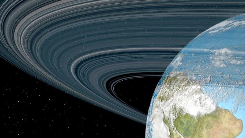 Si los planetas Plutón Marte La Tierra Venus y Mercurio tuvieran anillos