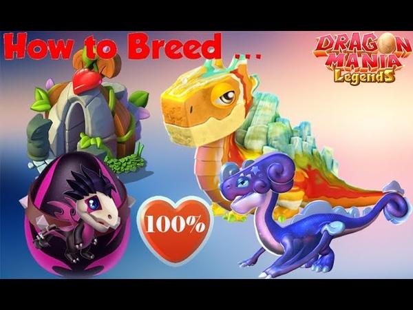 How to breed ROCKER Dragon Geyser Dragon Stardust Dragon Dragon Mania Legends
